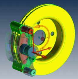 brake rotor and pad simulations with multidisciplinary solutions