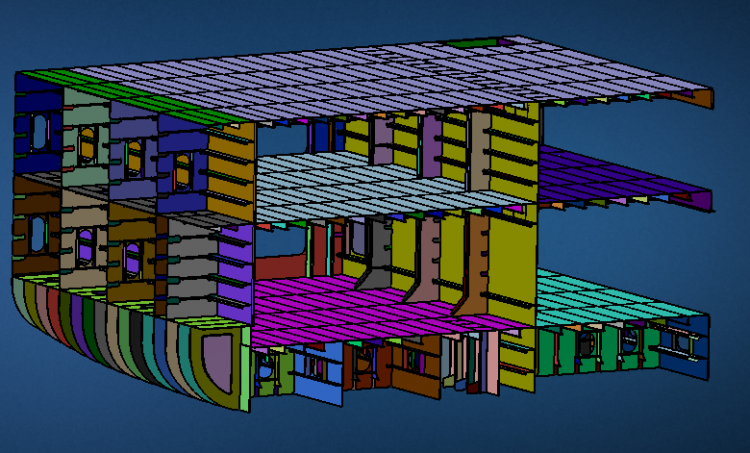 MSC Apex Grizzly Structural Analysis for Massive Assemblies
