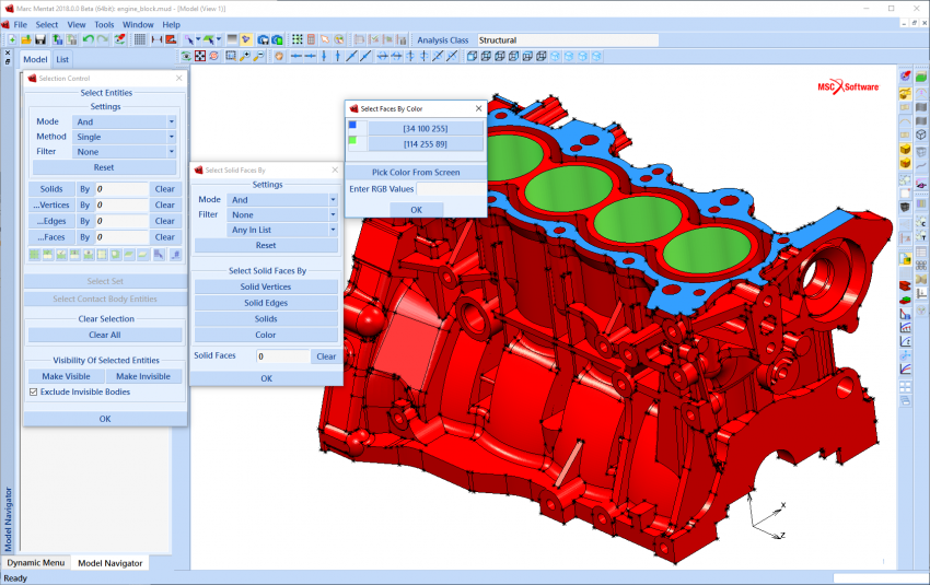 Accurate and Efficient Workflow for Hyperelastic Material Simulations