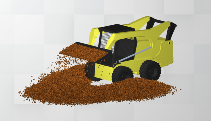 Adding Realistic Loads in Adams with Bulk Material Simulation