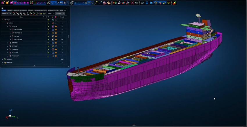 MSC Apex and Hexagon PPM Smart 3D Integration